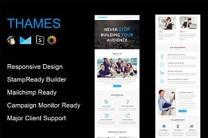 THAMES - Responsive Email Template