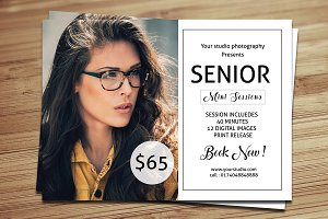 Senior Mini Session Template-V371
