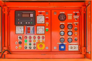 electricity Control panel
