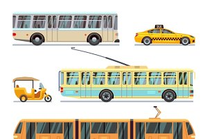 Municipal city transport