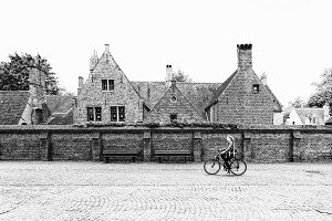 Bruges Cyclist