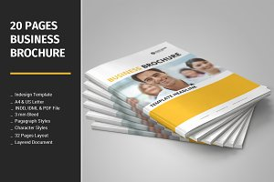 20 Pages Business Brochure