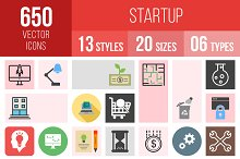 650 Startup Icons