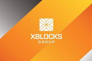 Xblock - Letter X Logo