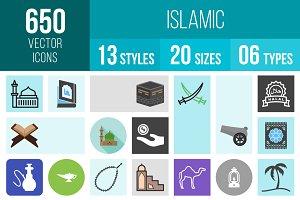 650 Islamic Icons