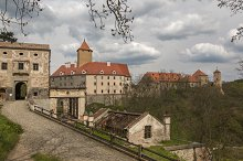 Old castle Veveri
