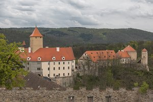 State Castle Veveri of Brno Dam