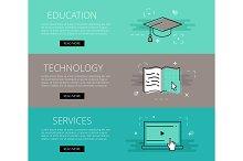 Ed Tech Services banner set