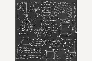 Geometry Formula Board