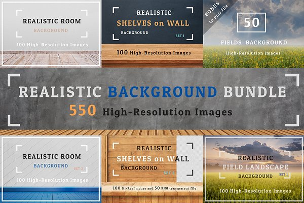 Realistic Background Bundle