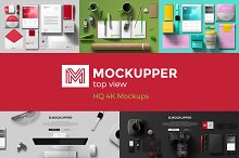 Mockupper Scene Generator topview 4K
