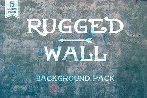 Rugged Wall Background Set