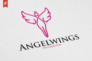 Angel Wings Logo