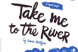 Take me to the river brush script