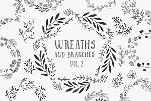 Wreaths and branches vol.2