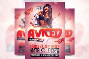 Aviced Party - Flyer Template