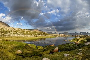 Kings Canyon Lake Rainbow