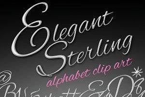 Elegant Sterling Silver Letters