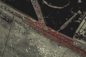 Abandoned Airplane Texture