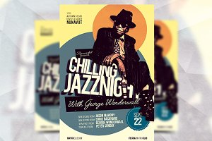 Chilling Jazz Night - Flyer Template