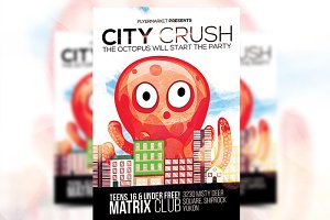 City Crush - Flyer Template