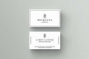 Recksana Business Card Template