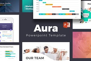 Aura Powerpoint Template
