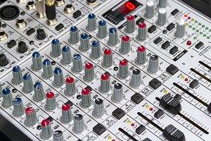 Mixing board, DJ Mix