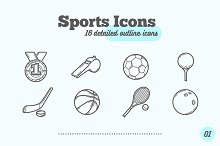 16 Sports Icons