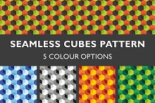 Seamless Cubes Pattern