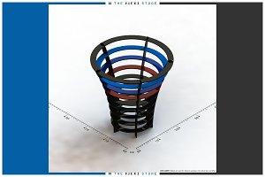BMW M-Power Paper Waste Basket 2