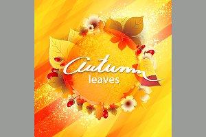 Autumn Yellow Background