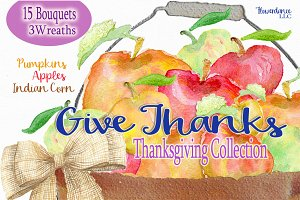Give Thanks Thanksgiving Collection