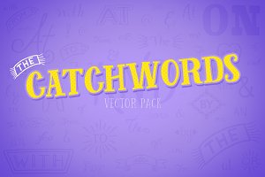 Catchwords Vector Pack Volume 1