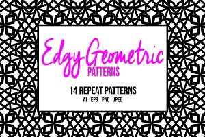 Edgy Geometric Patterns