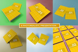 A4 Photorealistic Mockups