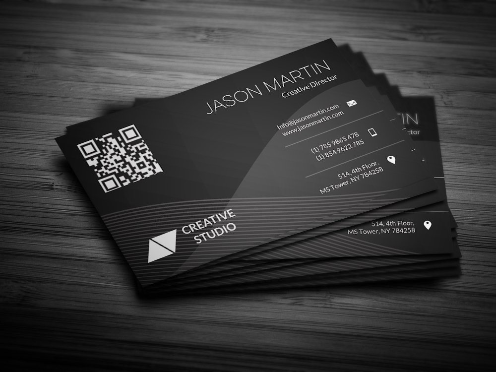 Abstract Background Business Card Templates Creative Market