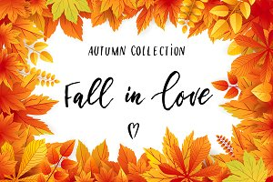 Fall in love - autumn set