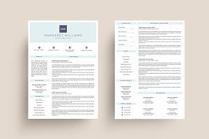3 Page Resume Template | MS Word