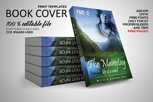 Book Cover Print Template