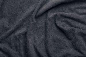 dark wrinkled fabric texture