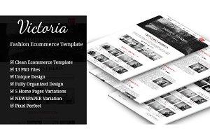 Victoria - Ecommerce Template