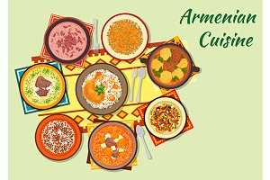 Armenian cuisine menu dishes