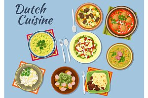 Dishes of dutch cuisine