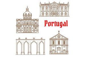 Portuguese travel landmarks