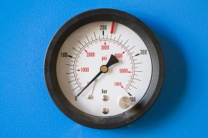 Manometer. Pressure measuring