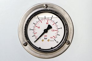 Manometer. Pressure measuring