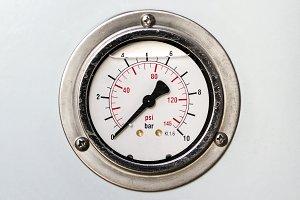 Manometer. Air gauge. Pressure measuring