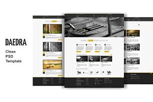 Daedra - creative portfolio Template