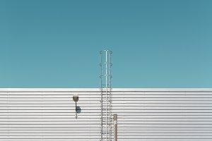 Facade of an industrial building